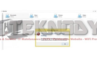 Mematikan Windows Script Host Access Is Disable On This Machine