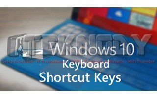 Shortcuts Windows 10