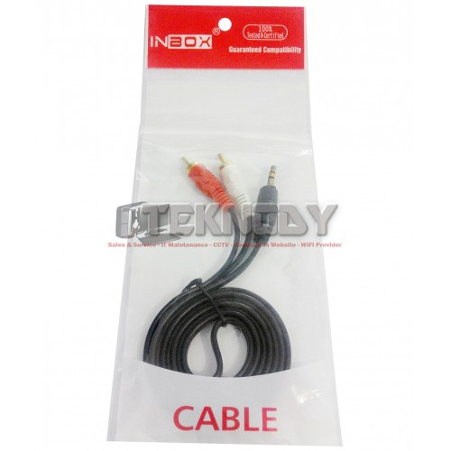 Kabel Audio 2 RCA - 3.5mm - 1.5m