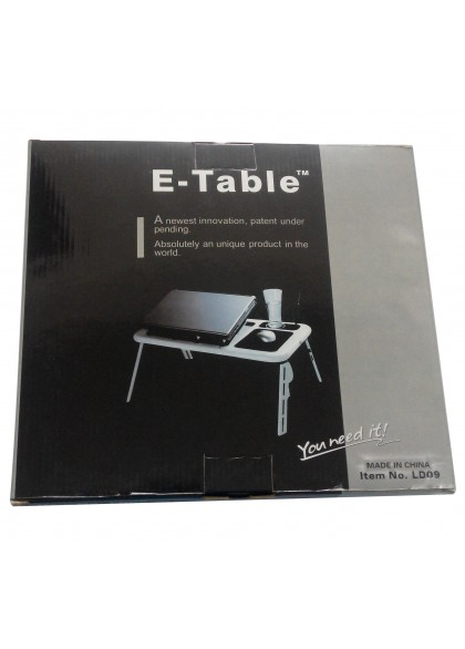 E-Table LD09 With Laptop Cooling Pad