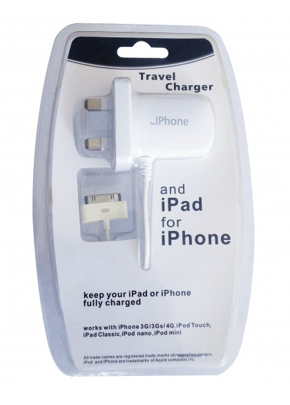 Travel Charger Ipad For Iphone