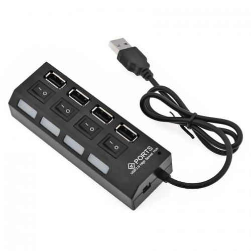 USB Hub With Switch - 4 port - 7 port