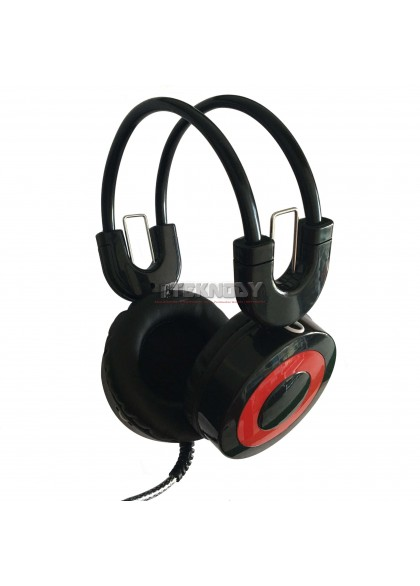 Headset Warnet H3 With Mic