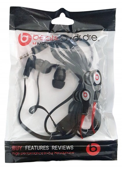 Monster Beats by dr dre Tour In Ear Headphones
