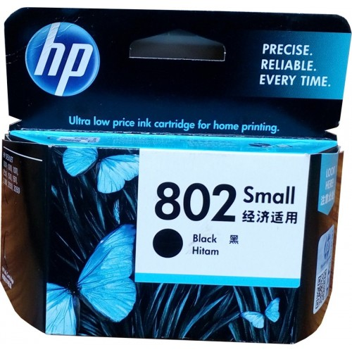 Cartridge HP 802 Small - Black - Color